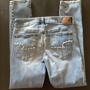 American Eagle Outfitters Jeans - AMERICAN EAGLE skinny jeans, light, size 6